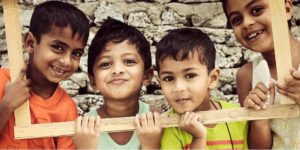 Image That Represents The Promoting Education of Children By NGO.